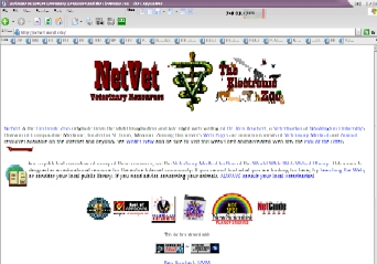NetVet Electronic Zoo and Vet Resources