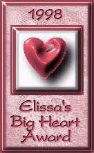 Elissa's Big Heart Award
