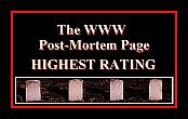 Post Mortem Page Highest Rating